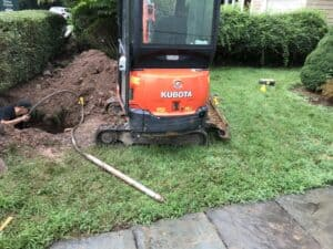 trenchless water line replacement